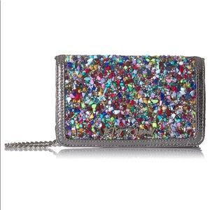 NWT Betsey Johnson rock Candy Crossbody Wallet